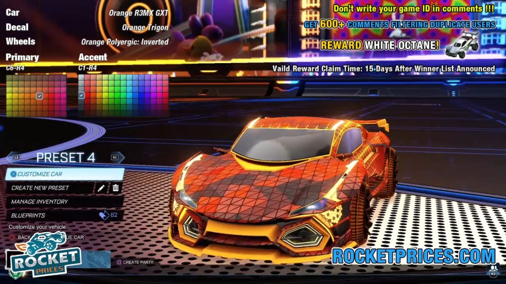 Orange R3MX GXT