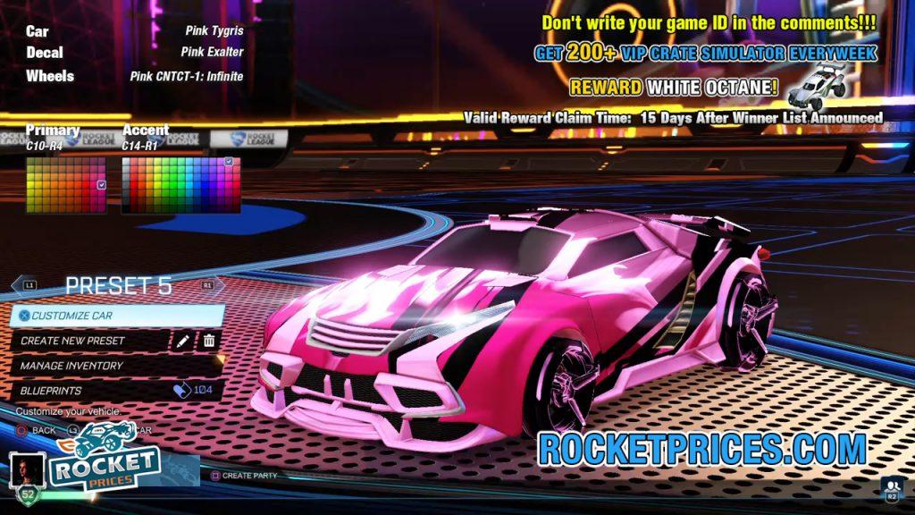 Rocket League Tygris Design 3